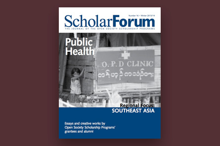 Scholarforum Public Healthsoutheast Asia Open Society Foundations