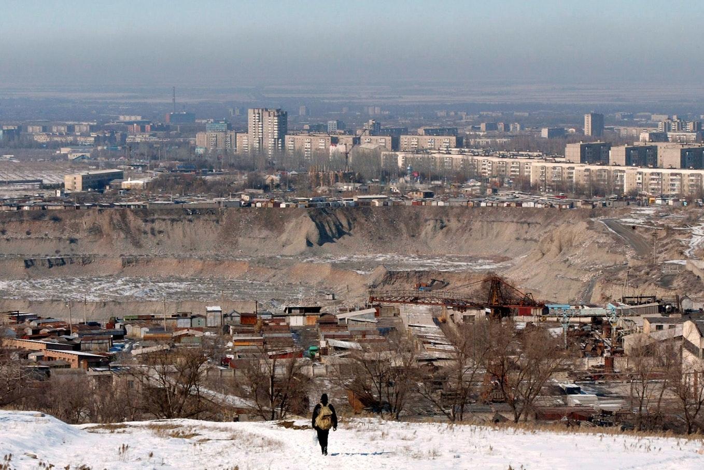 A view of Bishkek
