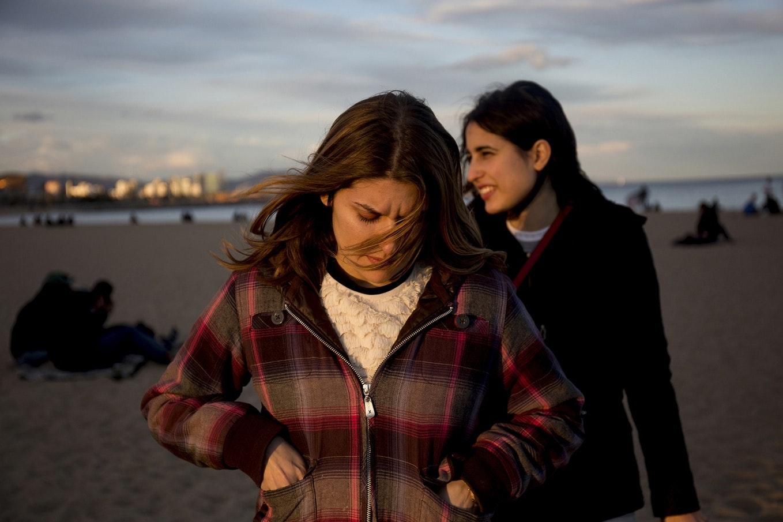 Women on a beach