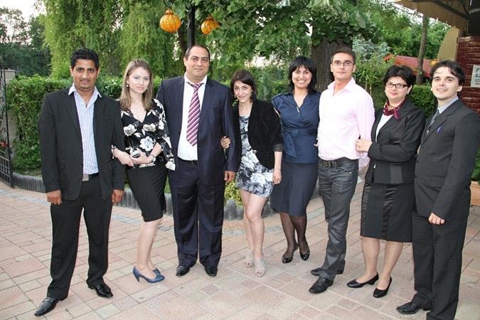 Impreuna staff poses for group photo