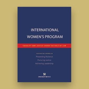 international women s program brochure