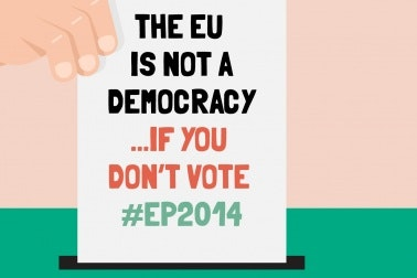 The EU is not a democracy...if you don't vote #EP2014