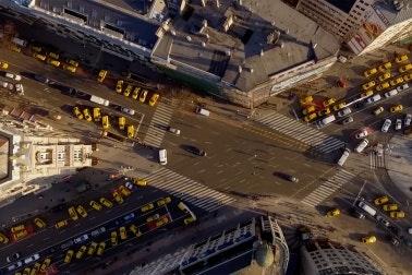 Taxi blockade