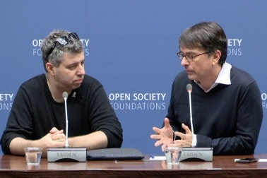 Evgeny Afineevsky and Gregory Maniatis