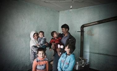 Afghan family
