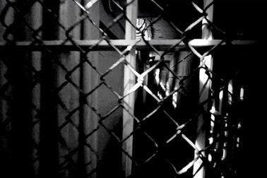 View inside a prison