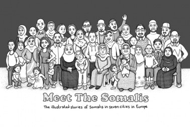 Group illustration of Meet the Somalis