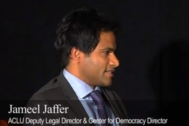 Still from National Security Secrecy and Surveillance event video