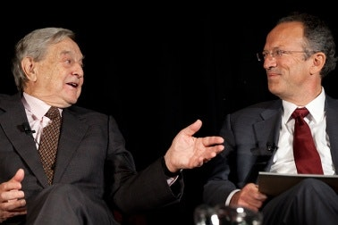 George Soros and Christopher Stone