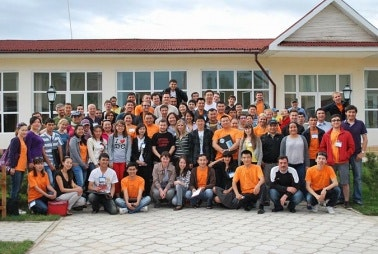 Group photo of camp participants