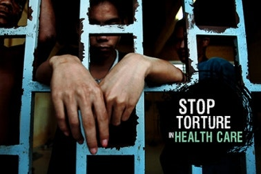 Stop Torture in Health Care video titlecard