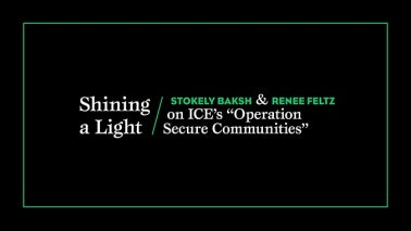 Title card that reads: Shining a Light