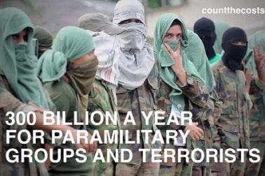 Image of paramilitants