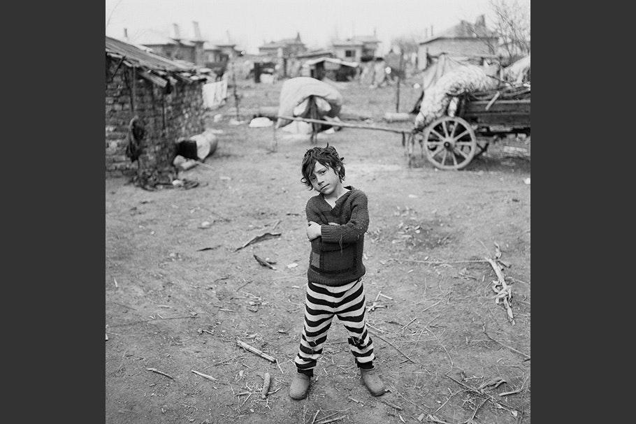 A portrait of a child.