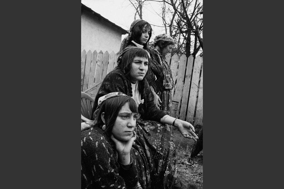 Portrait of four women.