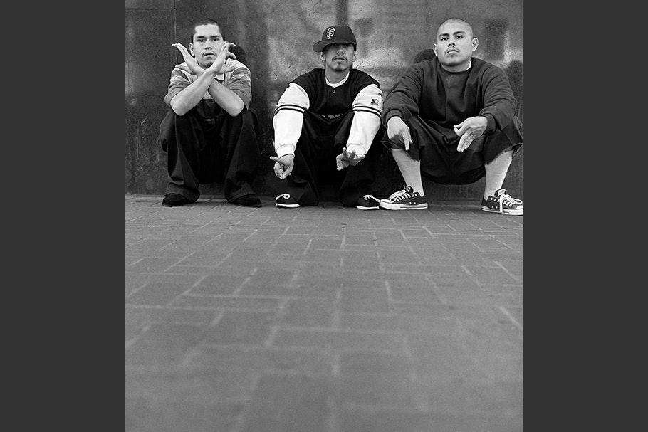 Three gang members.