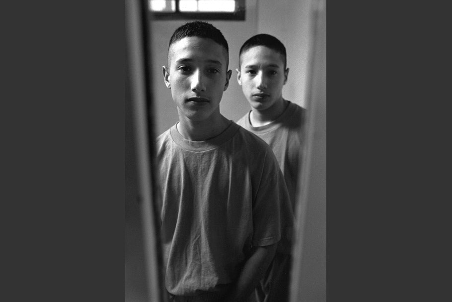 Incarcerated teenage twin boys.
