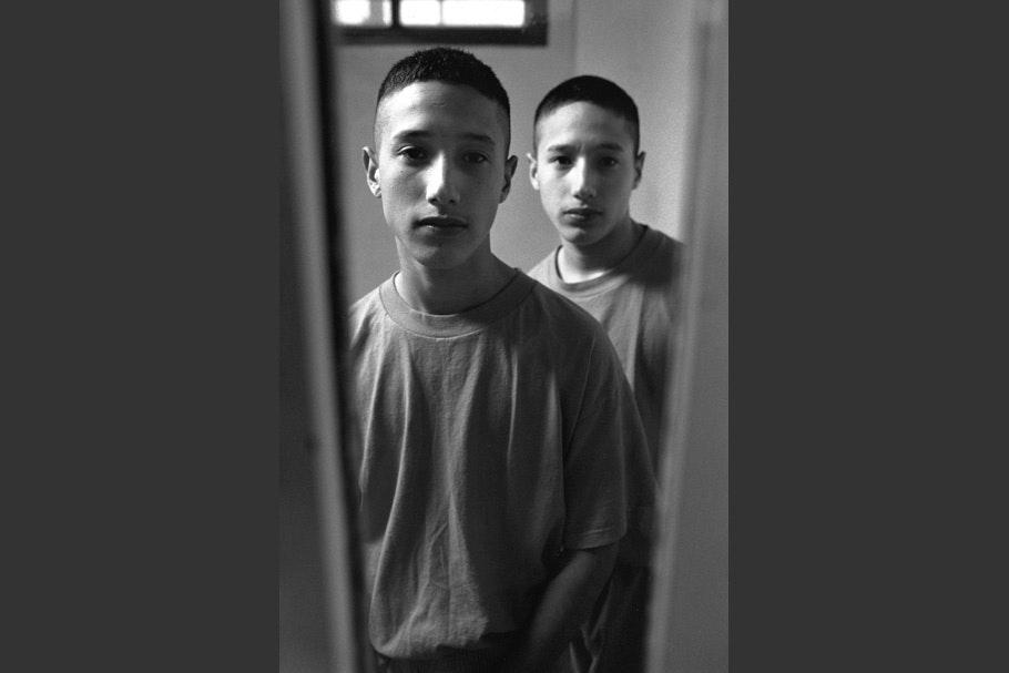 Incarcerated teenage twin boys.