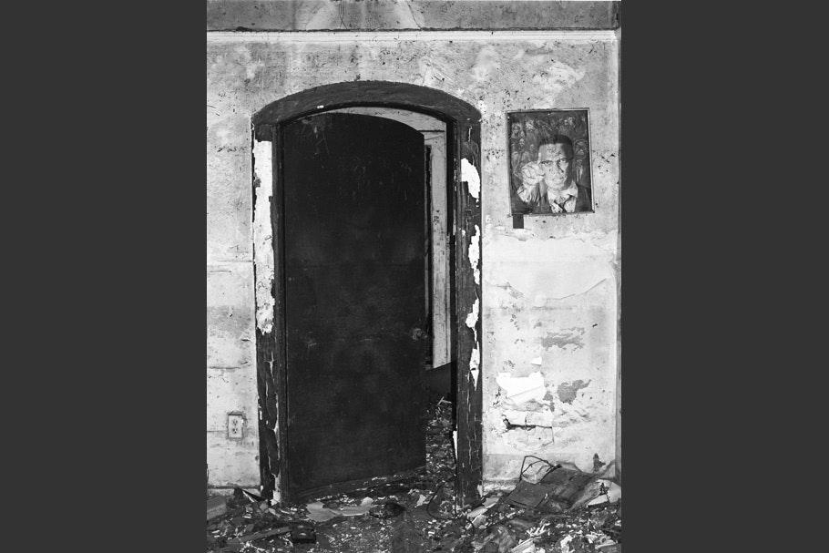 Doorway, vertical.
