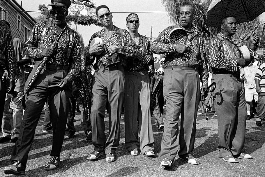 Group of men with matching shirts.