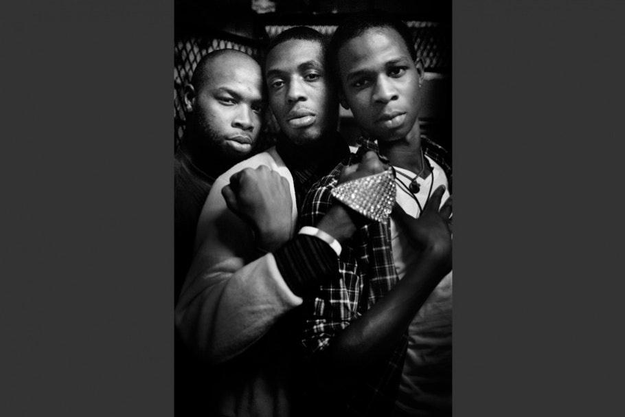 Three teenage boys.