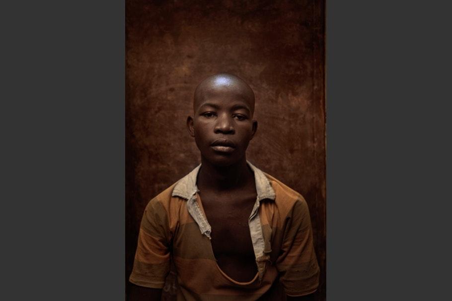 A portrait of a boy.