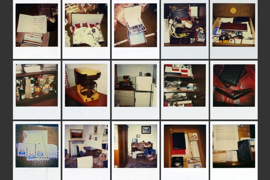 Grid of 15 Polaroids
