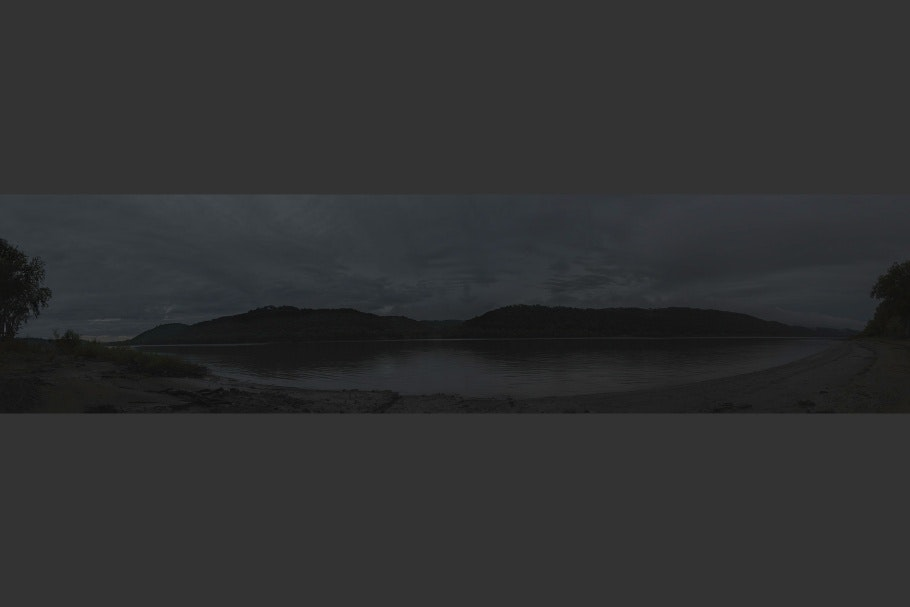 Panoramic image of the Ohio River