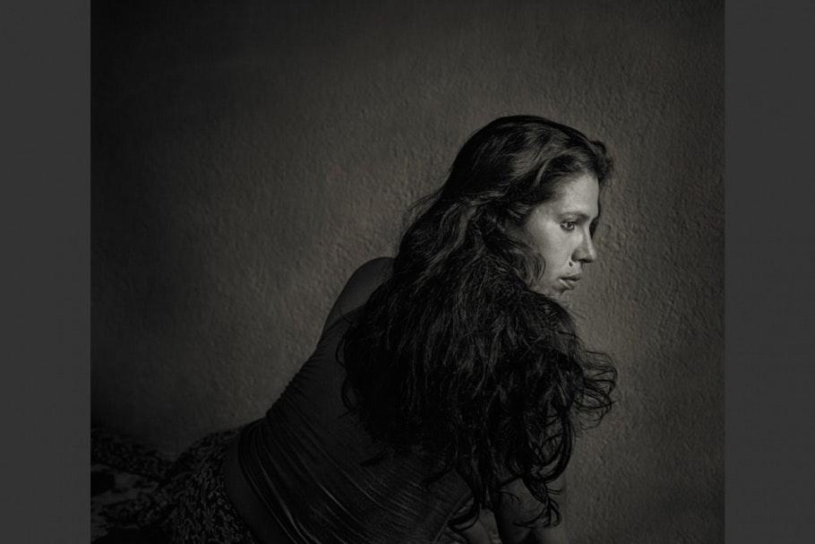 Portrait of a Bangladeshi hijra