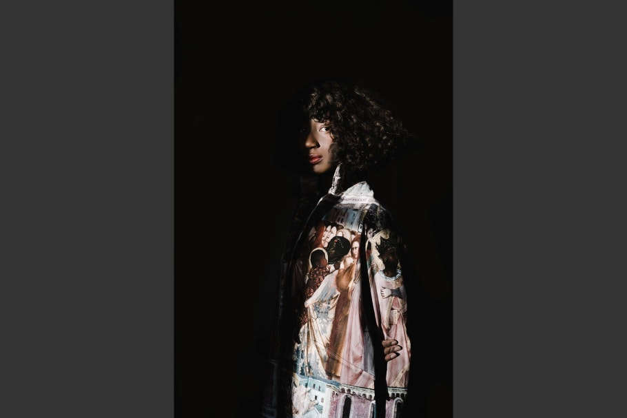 Nana Yaa Sare Boadu standing in a shadow