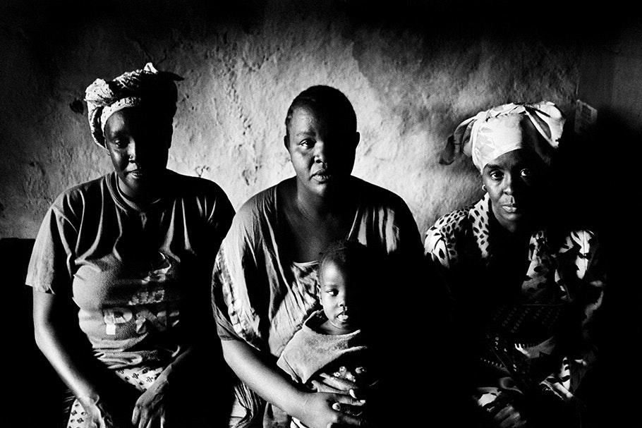 Nubian family.