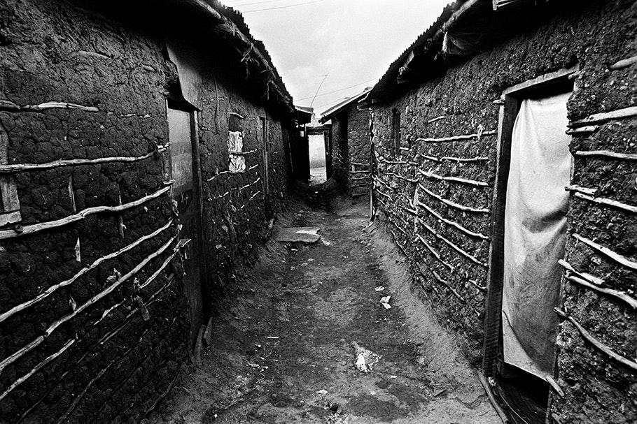 Nubian houses.