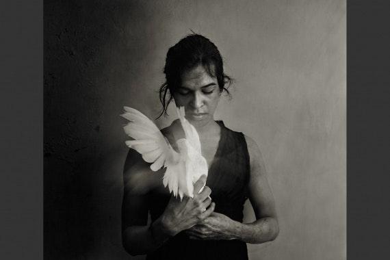 Portrait of a Bangladeshi hijra woman