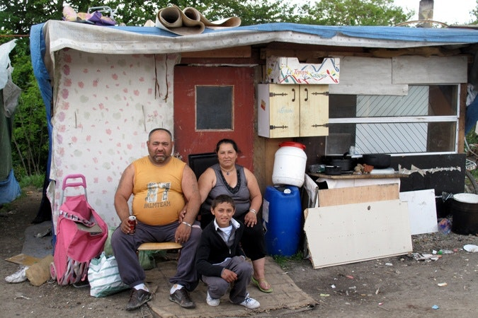 Roma in political life from romania to france roma migrants - Houses romanias political leaders ...