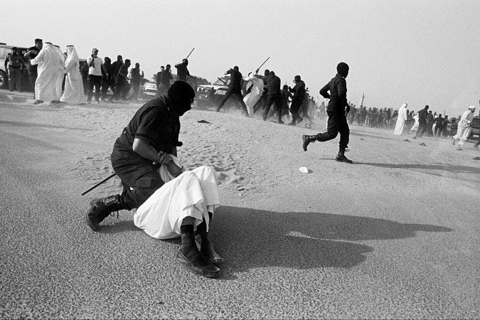 Violent crackdown on demonstration