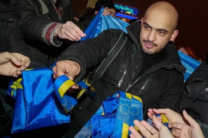 Mustafa Nayem, an activist