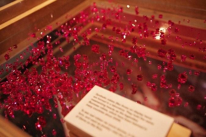 Dozens of rubies