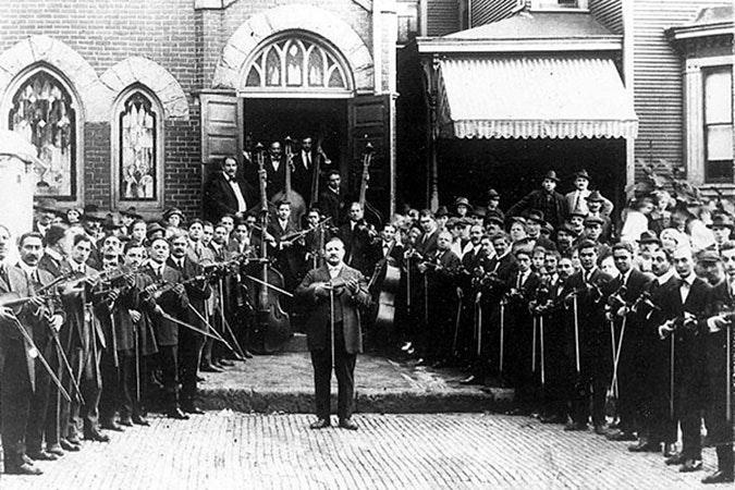 Braddock musical group.