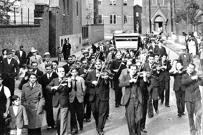 John Lacy's funeral