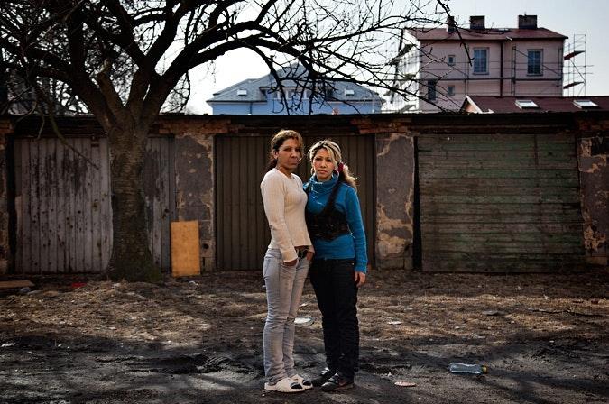 Alena Lesková with her daughter