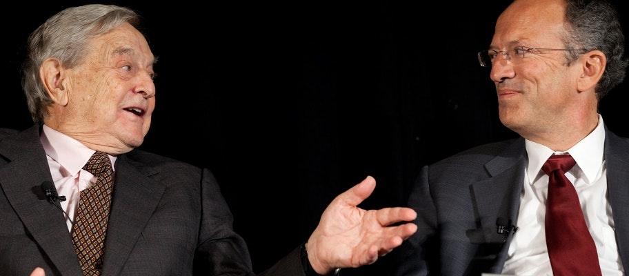 George Soros and Chris Stone